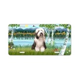 Bearded collie license plate License Plates