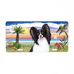 Palms - Papillon #1 Aluminum License Plate