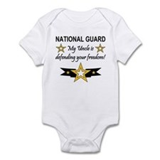 Army National Guard Uncle Infant Creeper