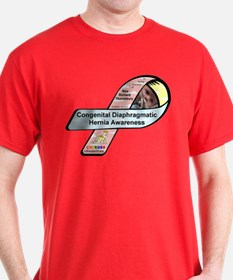 Max Richard Thornsbury CDH Awareness Ribbon T-Shirt
