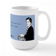 Four Figures Mug