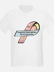 Brenden James CDH Awareness Ribbon T-Shirt