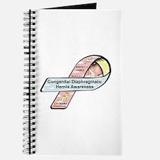 Brenden James CDH Awareness Ribbon Journal