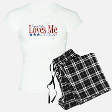 Somebody loves me in TX Pajamas