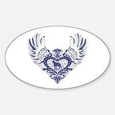 Boston Terrier Sticker (Oval)