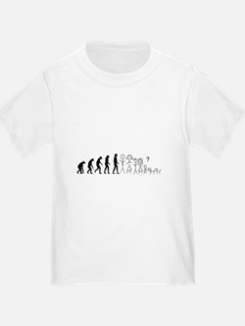 Toddler Evolution Stick People T-Shirt