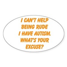 What's your excuse Decal