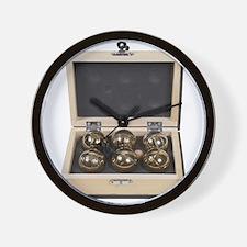 Bocce Ball Set Wall Clock