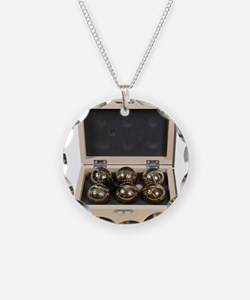 Bocce Ball Set Necklace