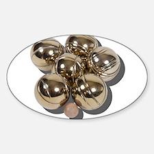 Bocce Balls Decal