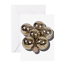 Bocce Balls Greeting Card