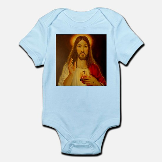 Sacred Heart of Jesus Christ Infant Bodysuit