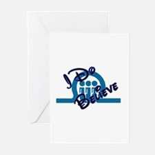 FT I Do Believe Greeting Cards (Pk of 10)
