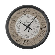 Medical Student Large Wall Clock