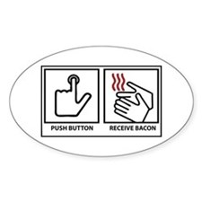 Bacon Dispenser Decal
