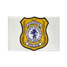 Essex County Police Rectangle Magnet