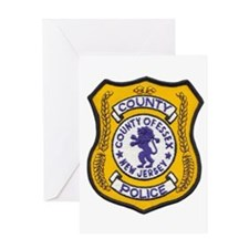 Essex County Police Greeting Card
