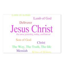 Jesus Names - Cool! Postcards (Package of 8)