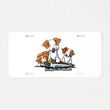 Duck Toller Aluminum License Plate