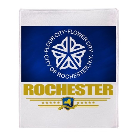 Rochester Pride Throw Blanket