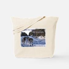 Lead Dog Tote Bag
