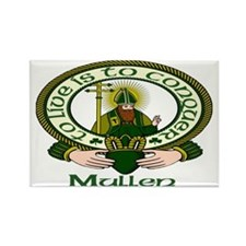 Mullen Clan Motto Rectangle Magnets (10 pack)