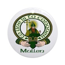 Mullen Clan Motto Ornament (Round)