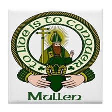 Mullen Clan Motto Ceramic Tile