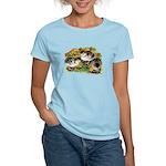 Flower Garden Guinea Keets Women's Light T-Shirt
