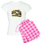 Flower Garden Guinea Keets Women's Light Pajamas