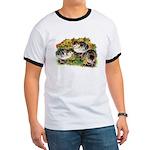 Flower Garden Guinea Keets Ringer T