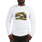Flower Garden Guinea Keets Long Sleeve T-Shirt