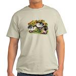 Flower Garden Guinea Keets Light T-Shirt