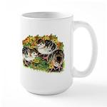 Flower Garden Guinea Keets Large Mug
