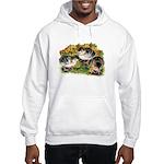 Flower Garden Guinea Keets Hooded Sweatshirt