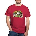 Flower Garden Guinea Keets Dark T-Shirt