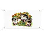 Flower Garden Guinea Keets Banner