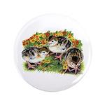 """Flower Garden Guinea Keets 3.5"""" Button (100 p"""