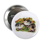 """Flower Garden Guinea Keets 2.25"""" Button (100"""