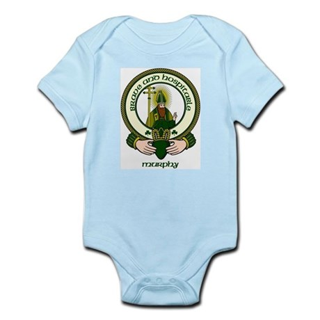 Murphy Clan Motto Infant Creeper