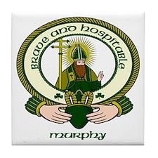 Murphy Clan Motto Ceramic Tile