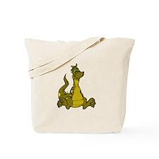 Friendly Dragon Tote Bag
