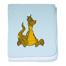 Friendly Dragon baby blanket