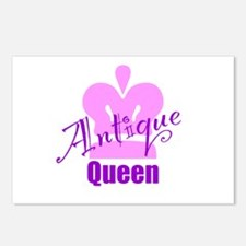 Antique Queen Postcards (Package of 8)