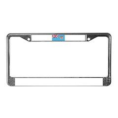 Fiji License Plate Frame