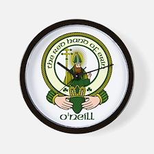 O'Neill Clan Motto Wall Clock