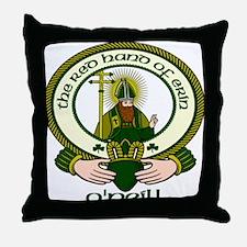 O'Neill Clan Motto Throw Pillow