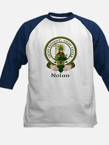 Nolan Clan Motto Kids Baseball Jersey
