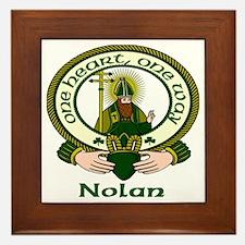 Nolan Clan Motto Framed Tile
