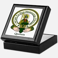 Quinn Clan Motto Keepsake Box